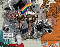 Illustrations for Taalgenoot Magazine