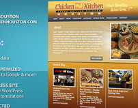 WordPress Restaurant Theme - Houston Chicken Kitchen