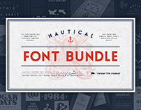 NEW Nautical Font Bundle [2017]
