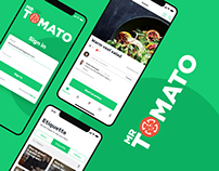 Mr. Tomato iOS & Android app