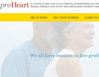 iamproheart.com // Bayer microsite