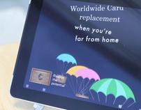 American Express - iPad Digital Advertising