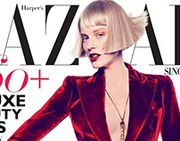 Fashion Styling: Harper's Bazaar Singapore