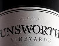 Unsworth Vineyards - Branding, Labels, Web & Print
