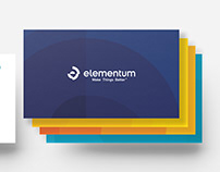 Elementum Business Cards