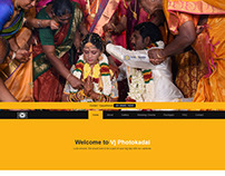 Vj Photokadai website design