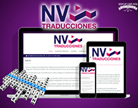 NV TRADUCCIONES   DISEÑO WEB