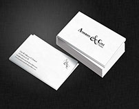 Anderson & Cole Neckties Branding & Stationery