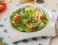 LIWAN Café - Grilled Halloumi Salad