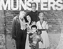 RAMONES x MUNSTERS CROSSOVER ALBUM ART