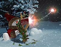 New Year Snowman 2