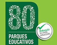80 Parques Educativos