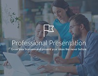 Professional Pitch Deck Free Keynote Template