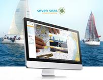 Seven Seas Sailing - Responsive Website