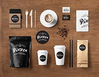 Coffee bar in Spain - corporate identity