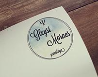 Logotipo criado para Gleysi Moraes, psicóloga