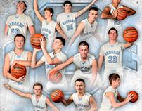 Cascade Basketball Schedule Poster