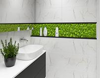 #bathroom #moss