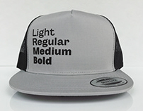 Font Weights Hat