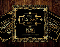 Great Gatsby's Party - Art Deco Templates Collection
