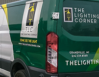 The Lighting Corner Delivery Van