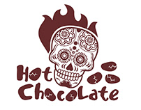 Hot chocolate logo templates