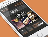 Single Brothers Bar Mobile Website