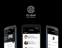 Clique - Wearable Device + App