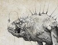 Post apocalyptic RPG concept art