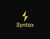 Syntax logo design