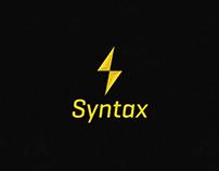 Syntax logo design