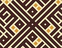 Life doesn't Still | Kufi Typography