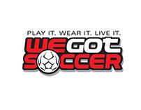 WeGotSoccer Logo Design
