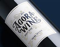 Agora Wine Lable