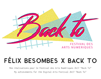 "Videos and GIF for the Digital Arts Festival ""Back To"""