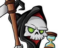 Grim Reaper Board Game Character