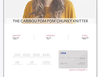 Daily UI Credit Card Check out