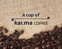 A cup of kar.ma coffee