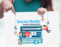Infographic 2 - Social Media Dimesions