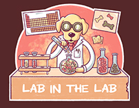 """Lab in the Lab"" T-Shirt Design"