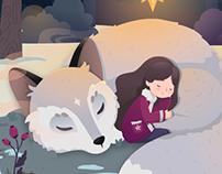 Winter Fairytale - The Sleeping Fox