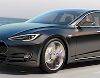 Renderings for Tesla Motors - fanart