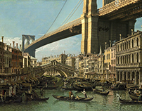 Popspective [Canaletto+Popart+NYC]