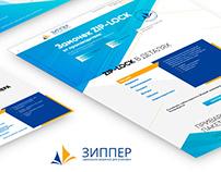 Website Zip-lock / website design / CMS Wordpress
