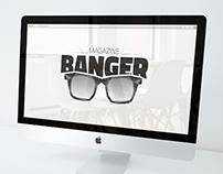 Logo Magazine BANGER