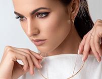 Blanc Canavas Diamonds jewelry advertising photoshoot