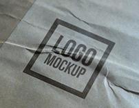 Photo-realistic Logo Mock-up PSD