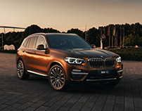 BMW X3 CGI render