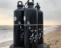 Midnight Orca - Re-usable Water Bottles