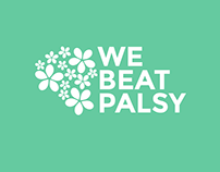 We Beat Palsy logo design